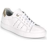 Shoes Women Low top trainers Myma PEGGUI White / Gold