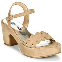 Shoes Women Sandals Myma POULIDOU Taupe