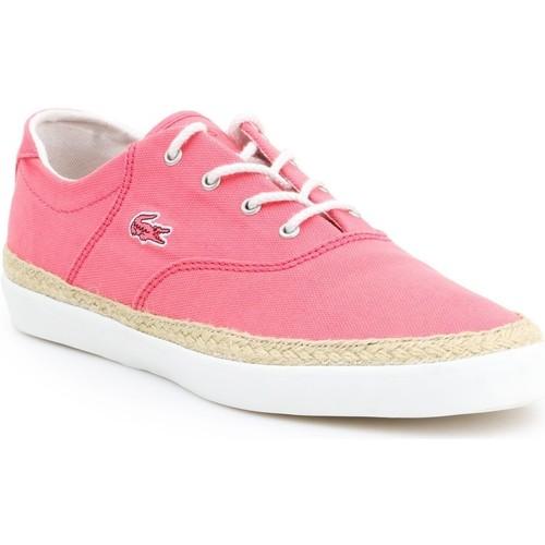 Shoes Women Espadrilles Lacoste Glendon Espa 3 SRW 7-27SRW2424124 pink