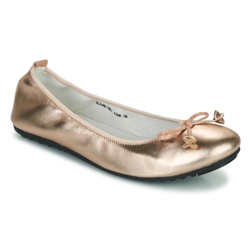 Shoes Women Flat shoes Mac Douglas ELIANE Pink / Gold
