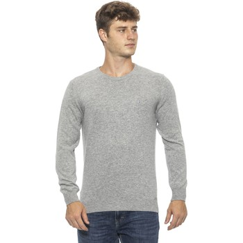 Clothing Men Jumpers Conte Of Florence Pullover Silver  Man Silver