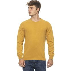 Clothing Men Sweaters Conte Of Florence Pullover yellow  Man Yellow