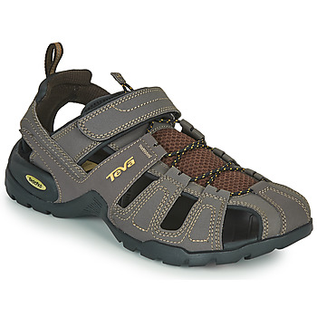 Shoes Men Outdoor sandals Teva FOREBAY Brown