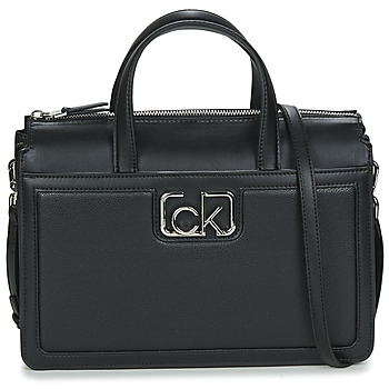 Bags Women Handbags Calvin Klein Jeans BUSINESS TOTE Black