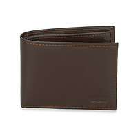 Bags Wallets Levi's CASUAL CLASSICS HUNTER COIN BIFOLD Brown