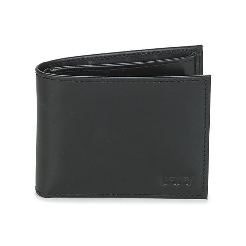 Bags Wallets Levi's CASUAL CLASSICS HUNTER COIN BIFOLD Black