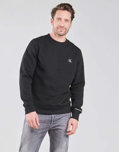 Clothing Men Sweaters Calvin Klein Jeans J30J314536-BAE Black