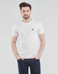 Clothing Men Short-sleeved t-shirts Calvin Klein Jeans YAF White
