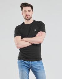 Clothing Men Short-sleeved t-shirts Calvin Klein Jeans YAF Black