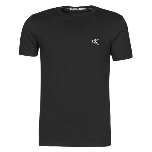 Clothing Men Short-sleeved t-shirts Calvin Klein Jeans YAF Black