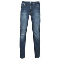 Clothing Men Straight jeans Calvin Klein Jeans SLIM TAPER Blue / Medium