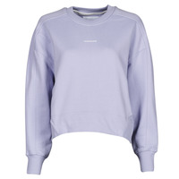 Clothing Women Sweaters Calvin Klein Jeans MICRO BRANDING CN Lilac
