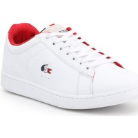 Shoes Men Low top trainers Lacoste Carnaby Evo 317 3 SPM 7-34SPM0003042 white