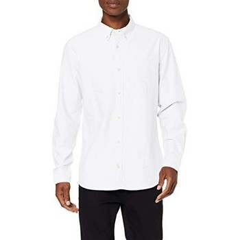 Clothing Men Long-sleeved shirts Jack & Jones Jjeoxford 12159911 White