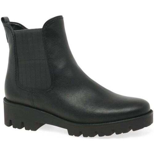 Shoes Women Mid boots Gabor Newport Womens Chelsea Boots black