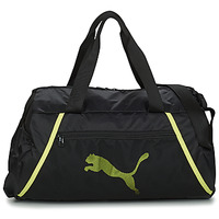 Bags Women Sports bags Puma AT ESS BARREL BAG Black / Yellow / Fluorescent