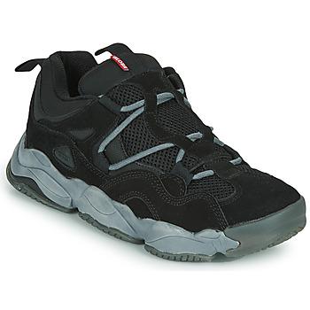 Shoes Men Low top trainers Globe OPTION EVO Black