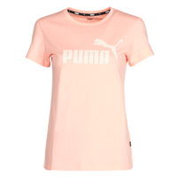 Clothing Women Short-sleeved t-shirts Puma ESS Logo Tee (s) Apricot