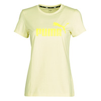 Clothing Women Short-sleeved t-shirts Puma ESS Logo Tee (s) Yellow