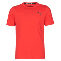 Clothing Men Short-sleeved t-shirts Puma ESS TEE Red