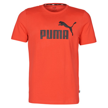 Clothing Men Short-sleeved t-shirts Puma ESSENTIAL TEE Red