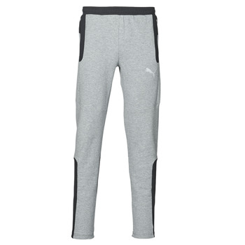 Clothing Men Tracksuit bottoms Puma Evostripe Pant Grey / Black