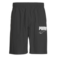 Clothing Men Shorts / Bermudas Puma Rebel Woven Short Black