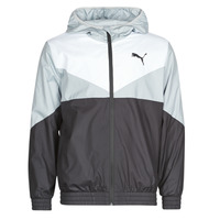 Clothing Men Macs Puma ESS+ CB Windbreaker Black / White / Grey