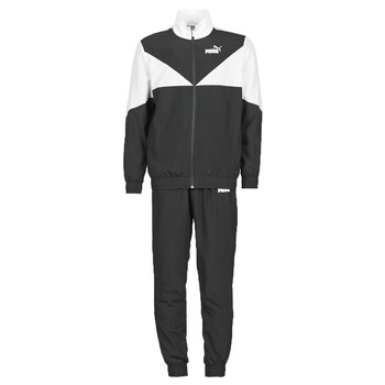 Clothing Men Tracksuits Puma Woven Suit CL Black / White