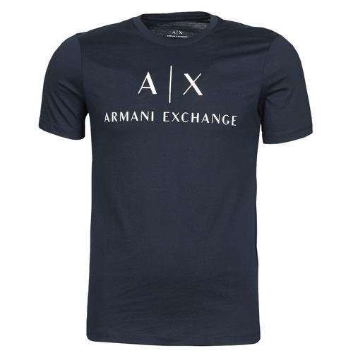 Clothing Men Short-sleeved t-shirts Armani Exchange 8NZTCJ-Z8H4Z Marine