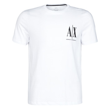 Clothing Men Short-sleeved t-shirts Armani Exchange 8NZTPH-ZJH4Z White