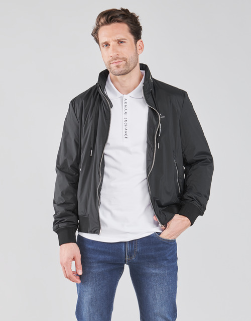 Clothing Men Jackets Armani Exchange 8NZB60-ZN97Z Black