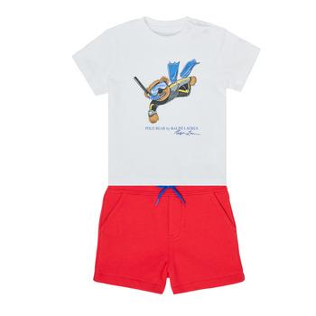 Clothing Boy Sets & Outfits Polo Ralph Lauren SOULA Multicolour