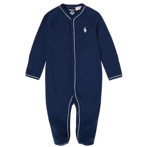 Clothing Boy Sleepsuits Polo Ralph Lauren LOLLA Marine