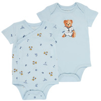 Clothing Boy Sleepsuits Polo Ralph Lauren SIMON Blue / Clear