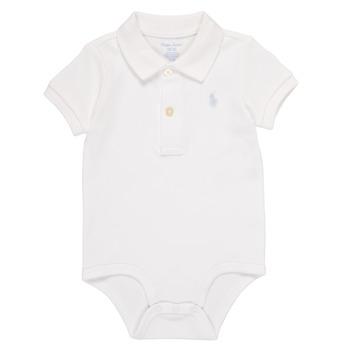 Clothing Boy Sleepsuits Polo Ralph Lauren NOUVEL White