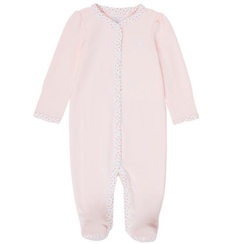 Clothing Girl Sleepsuits Polo Ralph Lauren PAULA Pink