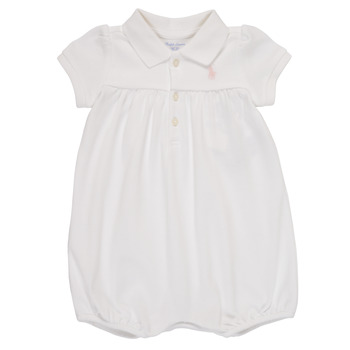 Clothing Girl Jumpsuits / Dungarees Polo Ralph Lauren SIMONE White