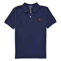 Clothing Boy Short-sleeved polo shirts Polo Ralph Lauren TUSSA Marine