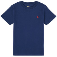 Clothing Boy Short-sleeved t-shirts Polo Ralph Lauren PHILOMENE Marine