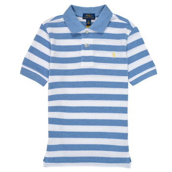 Clothing Boy Short-sleeved polo shirts Polo Ralph Lauren VRILLA Multicolour