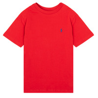 Clothing Boy Short-sleeved t-shirts Polo Ralph Lauren SOLLA Red