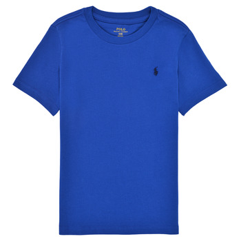 Clothing Boy Short-sleeved t-shirts Polo Ralph Lauren ELIVA Blue / Sapphire