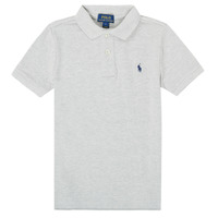Clothing Boy Short-sleeved polo shirts Polo Ralph Lauren FRANCHI Grey