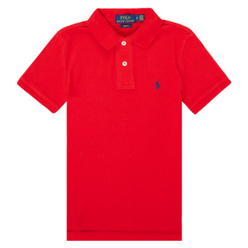 Clothing Girl Short-sleeved polo shirts Polo Ralph Lauren FRANCHI Red