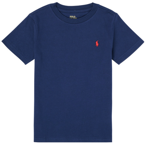 Clothing Boy Short-sleeved t-shirts Polo Ralph Lauren TINNA Marine