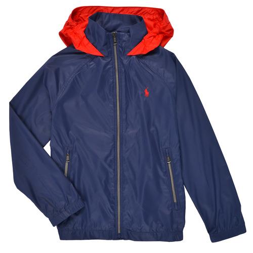 Clothing Boy Jackets Polo Ralph Lauren BRINNA Marine