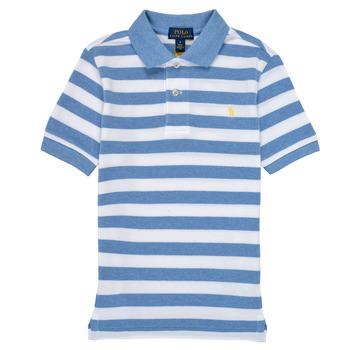Clothing Boy Short-sleeved polo shirts Polo Ralph Lauren VRILLA Multicolour