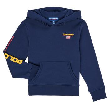 Clothing Boy Sweaters Polo Ralph Lauren AMELIA Marine