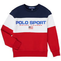 Clothing Boy Sweaters Polo Ralph Lauren TRINITA Multicolour
